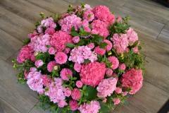 Coussin Camaïeu de roses