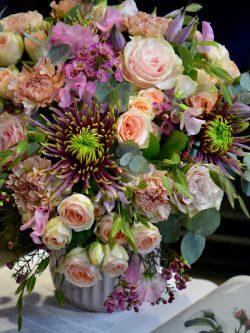 Bouquet esprit bohême vintage