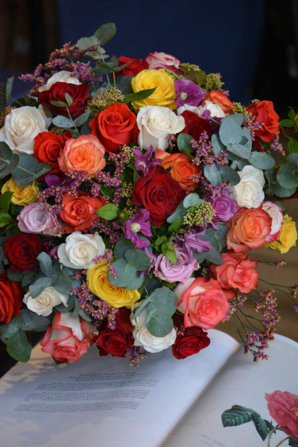 Bouquet de roses - Saint-Valentin