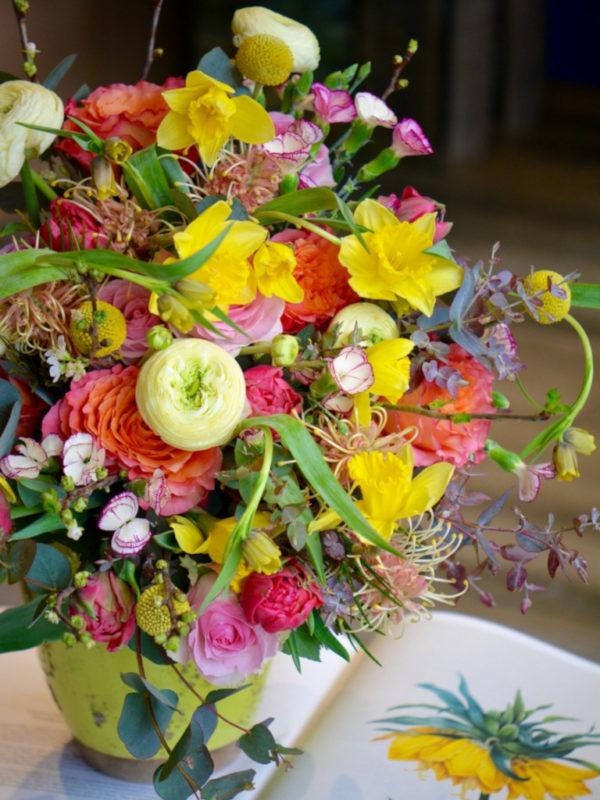 Bouquet printanier narcisses