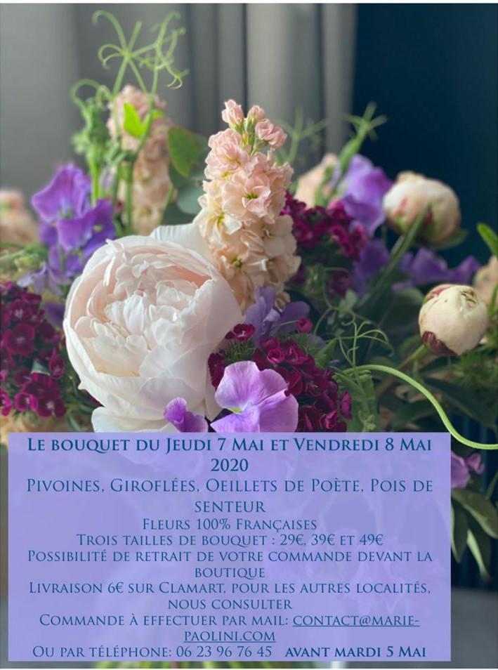 Livraions fleurs à Clamart - confinement