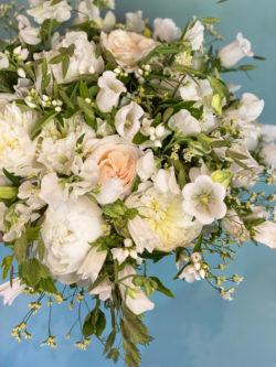 Bouquet fête des mères Roses de Jardin, Pivoines