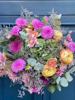 Bouquet Autumn purple