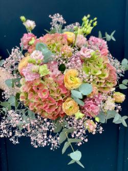 Bouquet Rose poudré