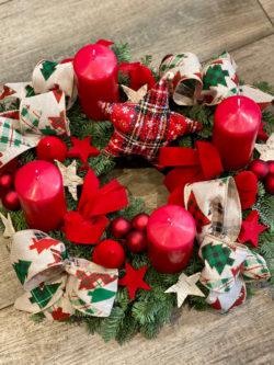 Couronne de l'Avent Tradition de Noël