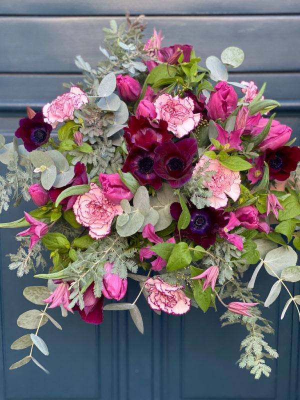 Bouquet Purple & Grey