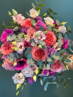 Bouquet Winter Color