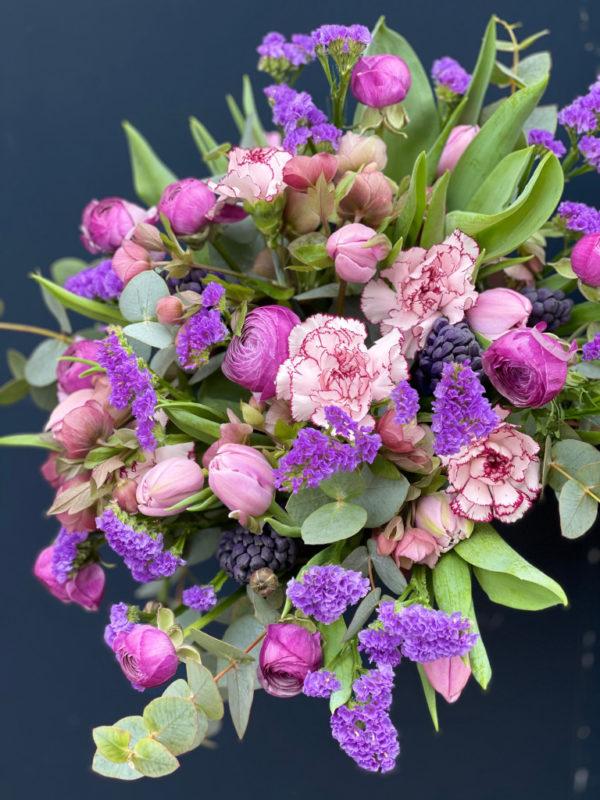 Bouquet Purple Pastel