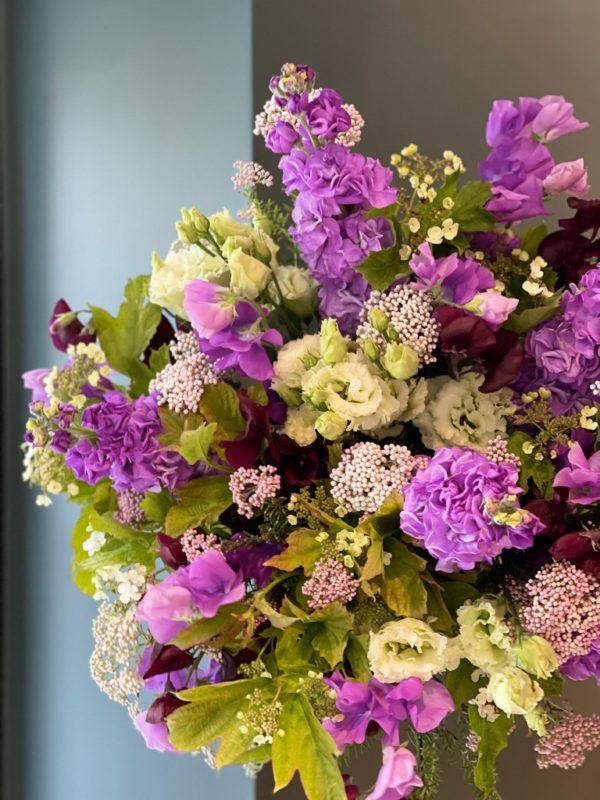 Bouquet Purple Spring - détails