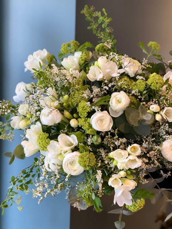 Bouquet printemps White Spring