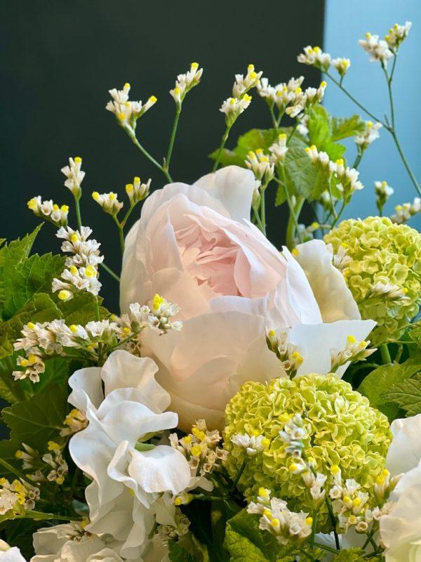 Bouquet white spring - détails